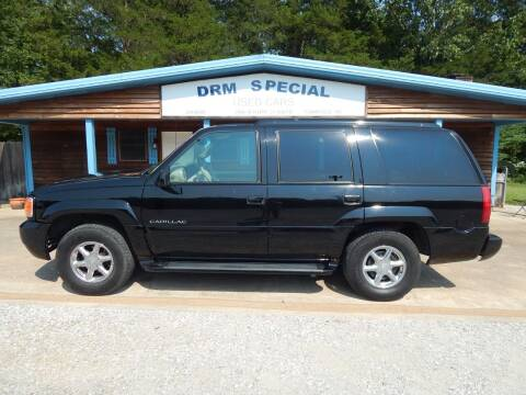 2000 Cadillac Escalade for sale at DRM Special Used Cars in Starkville MS