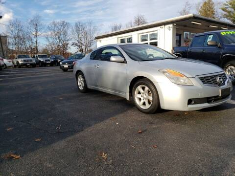 2008 Nissan Altima for sale at Highlands Auto Gallery in Braintree MA