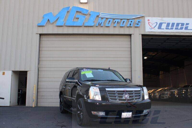 2011 Cadillac Escalade for sale at MGI Motors in Sacramento CA