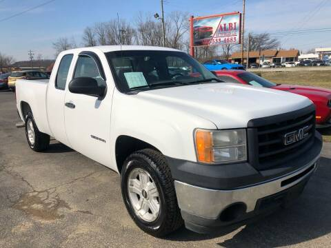 2010 GMC Sierra 1500 for sale at Albi Auto Sales LLC in Louisville KY
