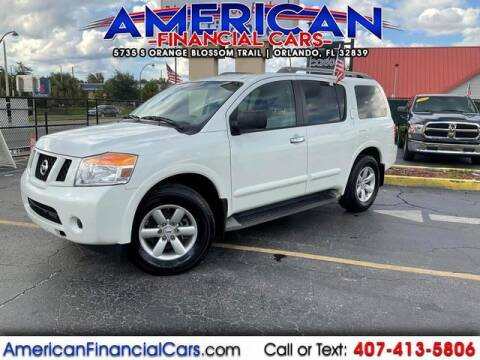 2015 Nissan Armada for sale at American Financial Cars in Orlando FL