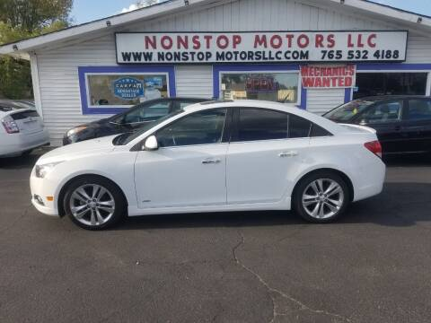 2012 Chevrolet Cruze for sale at Nonstop Motors in Indianapolis IN