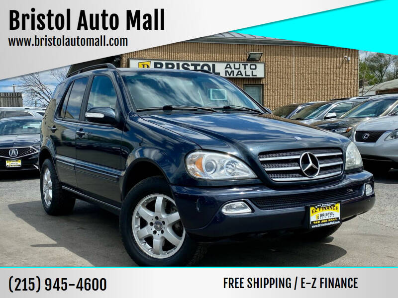 2004 Mercedes-Benz M-Class for sale at Bristol Auto Mall in Levittown PA