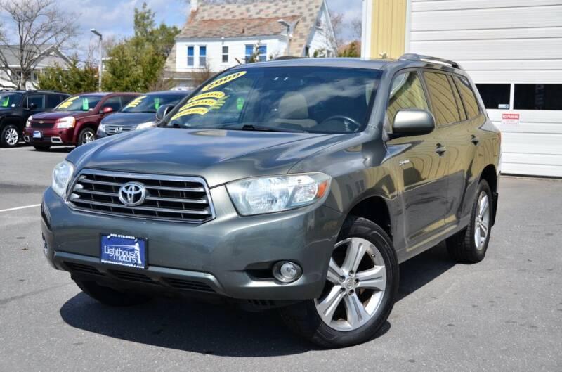 2008 Toyota Highlander for sale at Lighthouse Motors Inc. in Pleasantville NJ