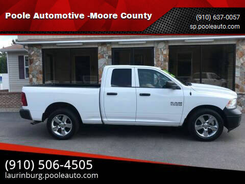 2016 RAM Ram Pickup 1500 for sale at Poole Automotive -Moore County in Aberdeen NC