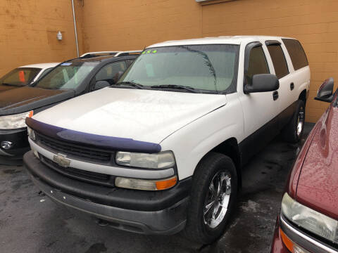 2001 Chevrolet Suburban for sale at American Auto Group LLC in Saginaw MI