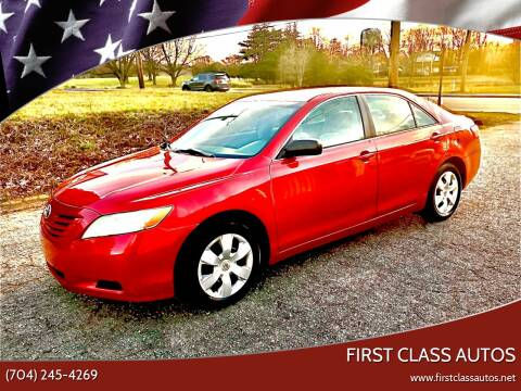 2007 Toyota Camry for sale at First Class Autos in Maiden NC