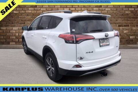 2018 Toyota RAV4 for sale at Karplus Warehouse in Pacoima CA