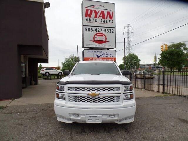 2014 Chevrolet Silverado 1500 for sale at Ryan Auto Sales in Warren MI