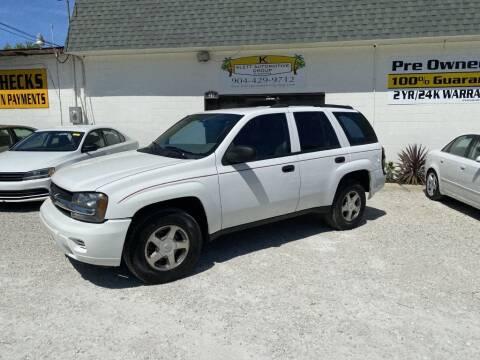 2006 Chevrolet TrailBlazer for sale at Klett Automotive Group in Saint Augustine FL