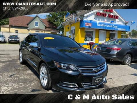 2018 Chevrolet Impala for sale at C & M Auto Sales in Detroit MI