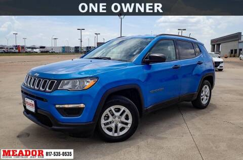 2017 Jeep Compass for sale at Meador Dodge Chrysler Jeep RAM in Fort Worth TX