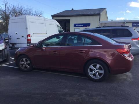 2012 Chevrolet Cruze for sale at Heritage Auto Sales in Reading PA