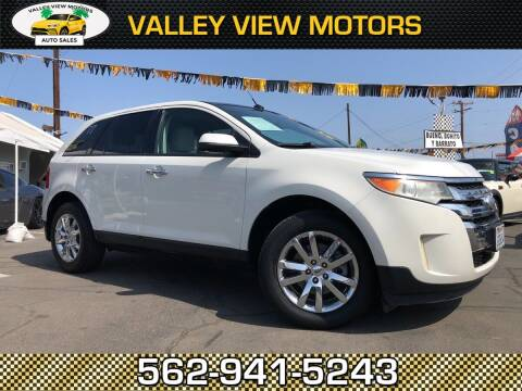 2011 Ford Edge for sale at Valley View Motors in Whittier CA