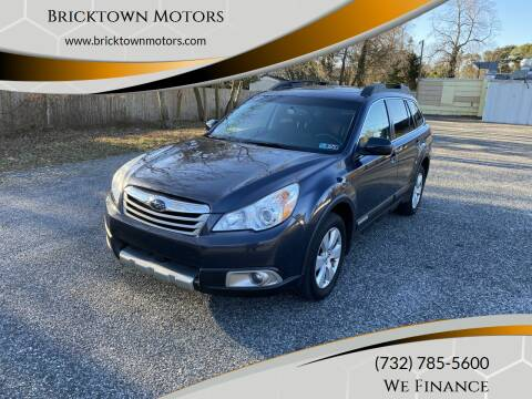 2010 Subaru Outback for sale at Bricktown Motors in Brick NJ