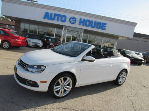 2012 Volkswagen Eos for sale at Auto House Motors in Downers Grove IL