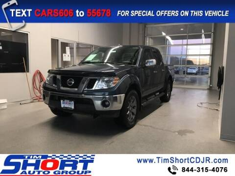 2017 Nissan Frontier for sale at Tim Short Chrysler in Morehead KY