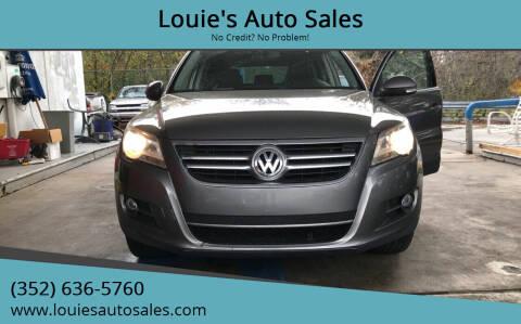 2010 Volkswagen Tiguan for sale at Louie's Auto Sales in Leesburg FL