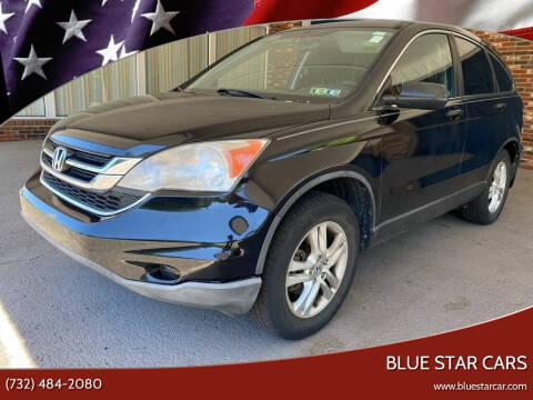 2010 Honda CR-V for sale at Blue Star Cars in Jamesburg NJ