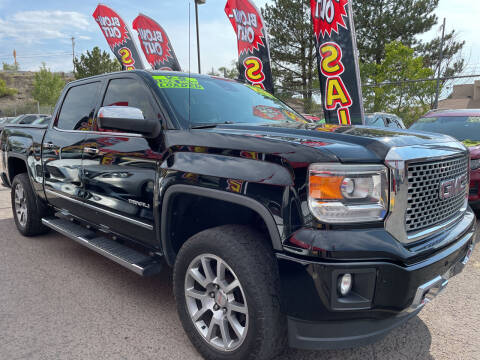 2015 GMC Sierra 1500 for sale at Duke City Auto LLC in Gallup NM
