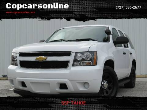 2012 Chevrolet Tahoe for sale at Copcarsonline in Largo FL