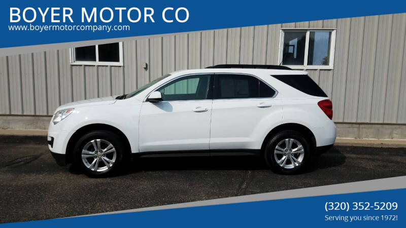 2012 Chevrolet Equinox for sale at BOYER MOTOR CO in Sauk Centre MN