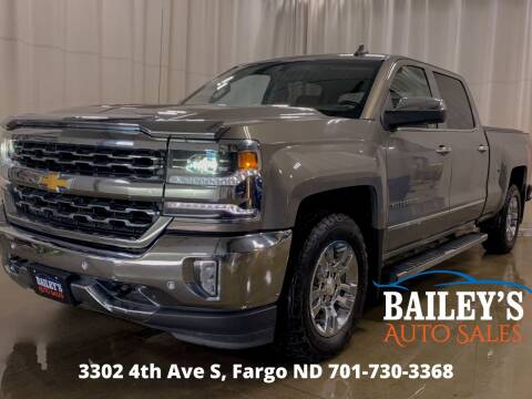 2017 Chevrolet Silverado 1500 for sale at Bailey's Auto Sales in Fargo ND