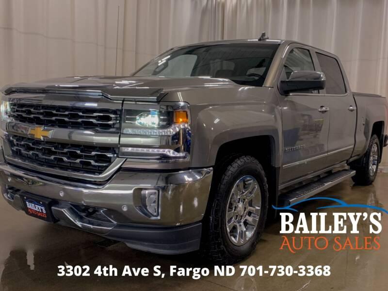 2017 Chevrolet Silverado 1500 for sale at Bailey's Auto Sales in Fargo ND