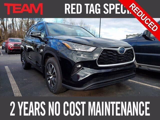2021 Toyota Highlander Hybrid for sale in Glen Mills, PA