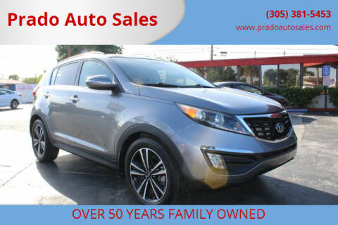 2016 Kia Sportage for sale at Prado Auto Sales in Miami FL