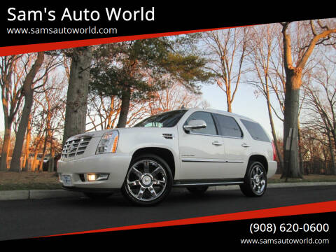 2011 Cadillac Escalade for sale at Sam's Auto World in Roselle NJ