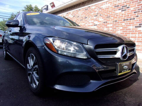 2016 Mercedes-Benz C-Class for sale at Certified Motorcars LLC in Franklin NH