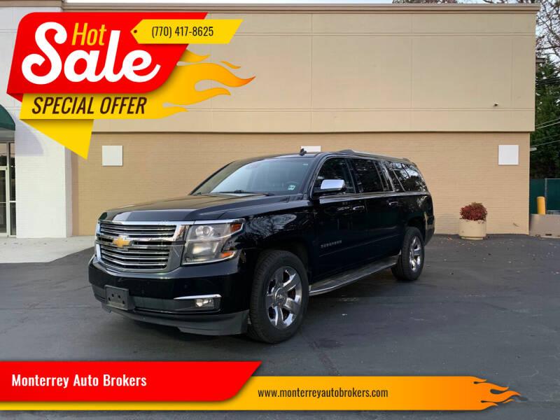 2015 Chevrolet Suburban for sale at Monterrey Auto Brokers in Decatur GA