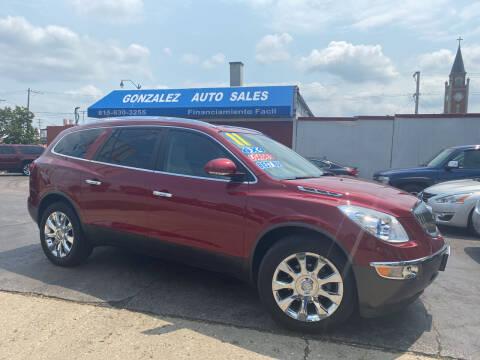 2011 Buick Enclave for sale at Gonzalez Auto Sales in Joliet IL