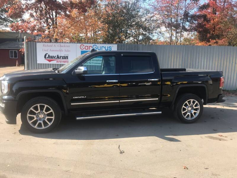 2017 GMC Sierra 1500 for sale at Chuckran Auto Parts Inc in Bridgewater MA