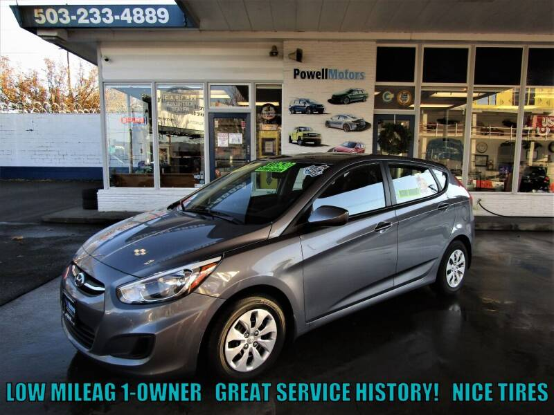 2016 Hyundai Accent for sale at Powell Motors Inc in Portland OR
