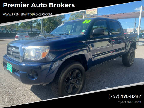2006 Toyota Tacoma for sale at Premier Auto Brokers in Virginia Beach VA