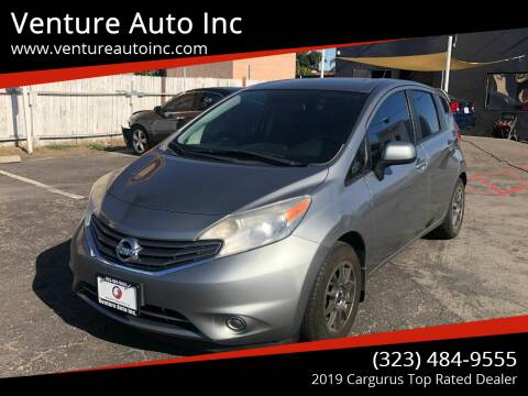 2014 Nissan Versa Note for sale at Venture Auto Inc in South Gate CA