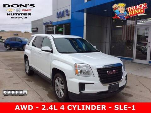 2017 GMC Terrain for sale at DON'S CHEVY, BUICK-GMC & CADILLAC in Wauseon OH