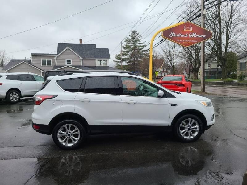 2018 Ford Escape for sale at Shattuck Motors in Newport VT