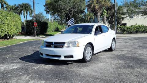 2012 Dodge Avenger for sale at Second 2 None Auto Center in Naples FL