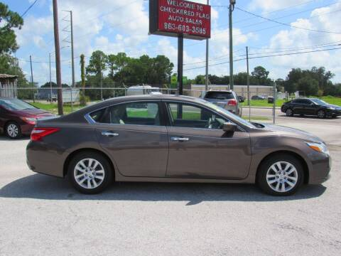 2016 Nissan Altima for sale at Checkered Flag Auto Sales EAST in Lakeland FL