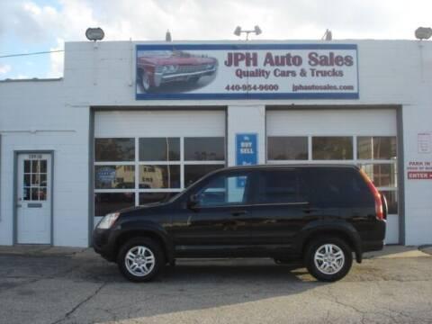 2004 Honda CR-V for sale at JPH Auto Sales in Eastlake OH
