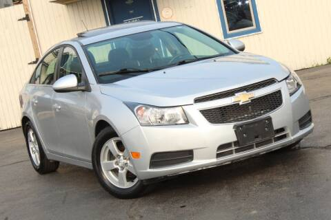 2014 Chevrolet Cruze for sale at Dynamics Auto Sale in Highland IN