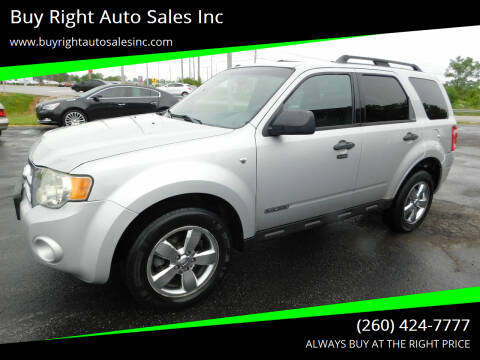 2008 Ford Escape for sale at Buy Right Auto Sales Inc in Fort Wayne IN