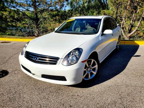 2006 Infiniti G35 for sale at Excalibur Auto Sales in Palatine IL