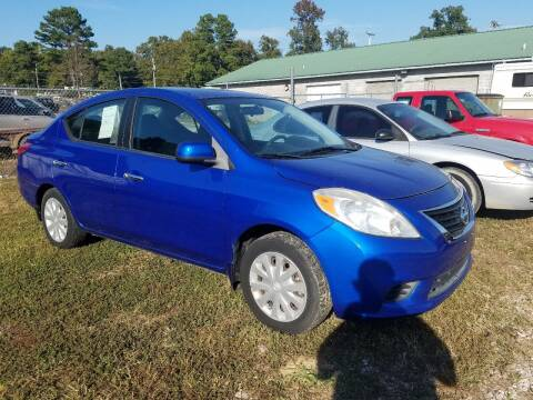 2012 Nissan Versa for sale at Arkansas Wholesale Auto Sales in Hot Springs AR