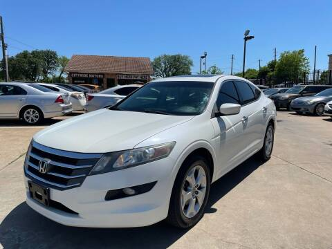 2012 Honda Crosstour for sale at CityWide Motors in Garland TX
