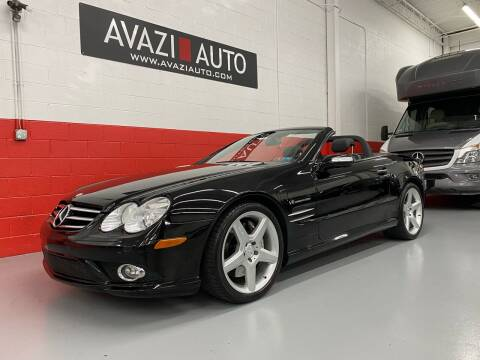 2008 Mercedes-Benz SL-Class for sale at AVAZI AUTO GROUP LLC in Gaithersburg MD