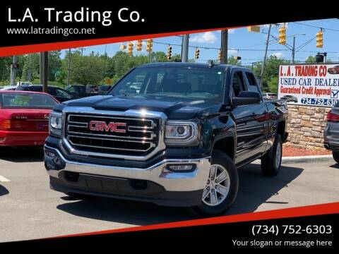 2018 GMC Sierra 1500 for sale at L.A. Trading Co. Woodhaven in Woodhaven MI